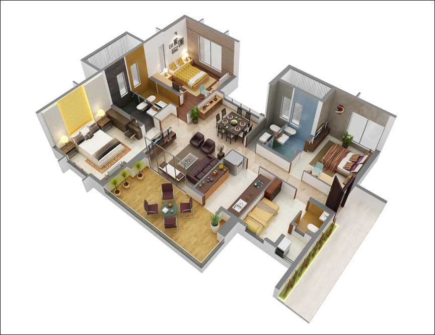 Các đặc điểm của căn hộ dịch vụ cho thuê