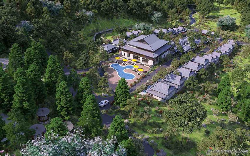 10 biệt thự villa Ba Vì Hà Nội giá rẻ đẹp cho thuê du lịch