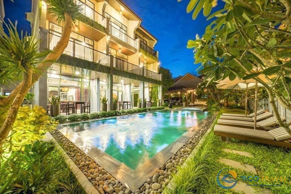 32 Biệt thự Villa Hội An giá rẻ đẹp cho thuê nguyên căn gần biển có hồ bơi