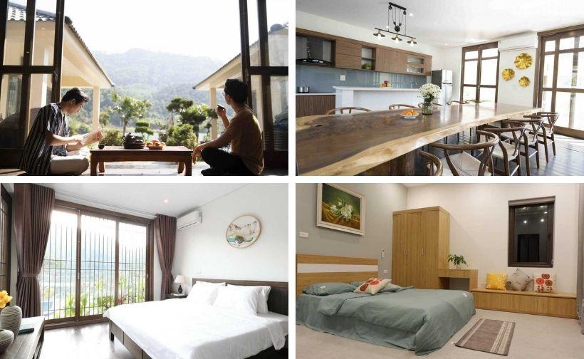 61 Biệt thự villa homestay Sóc Sơn giá rẻ view đẹp nguyên căn có hồ bơi