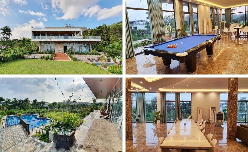 42 Biệt thự villa homestay Tam Đảo Vĩnh Phúc giá rẻ đẹp có hồ bơi