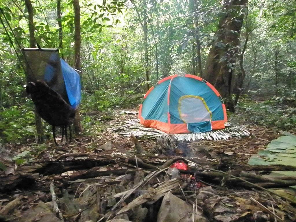 cắm trại ở cúc phương