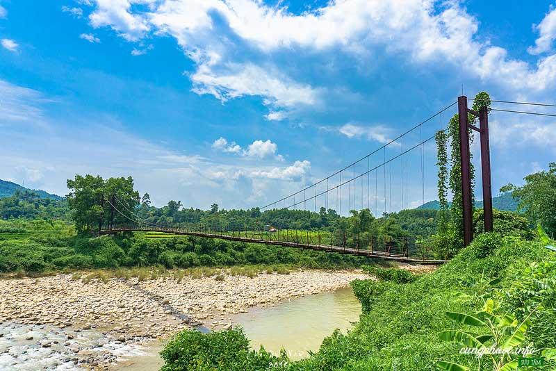 Cầu treo Nà Làng (Ảnh - vanne88_dreamerz)
