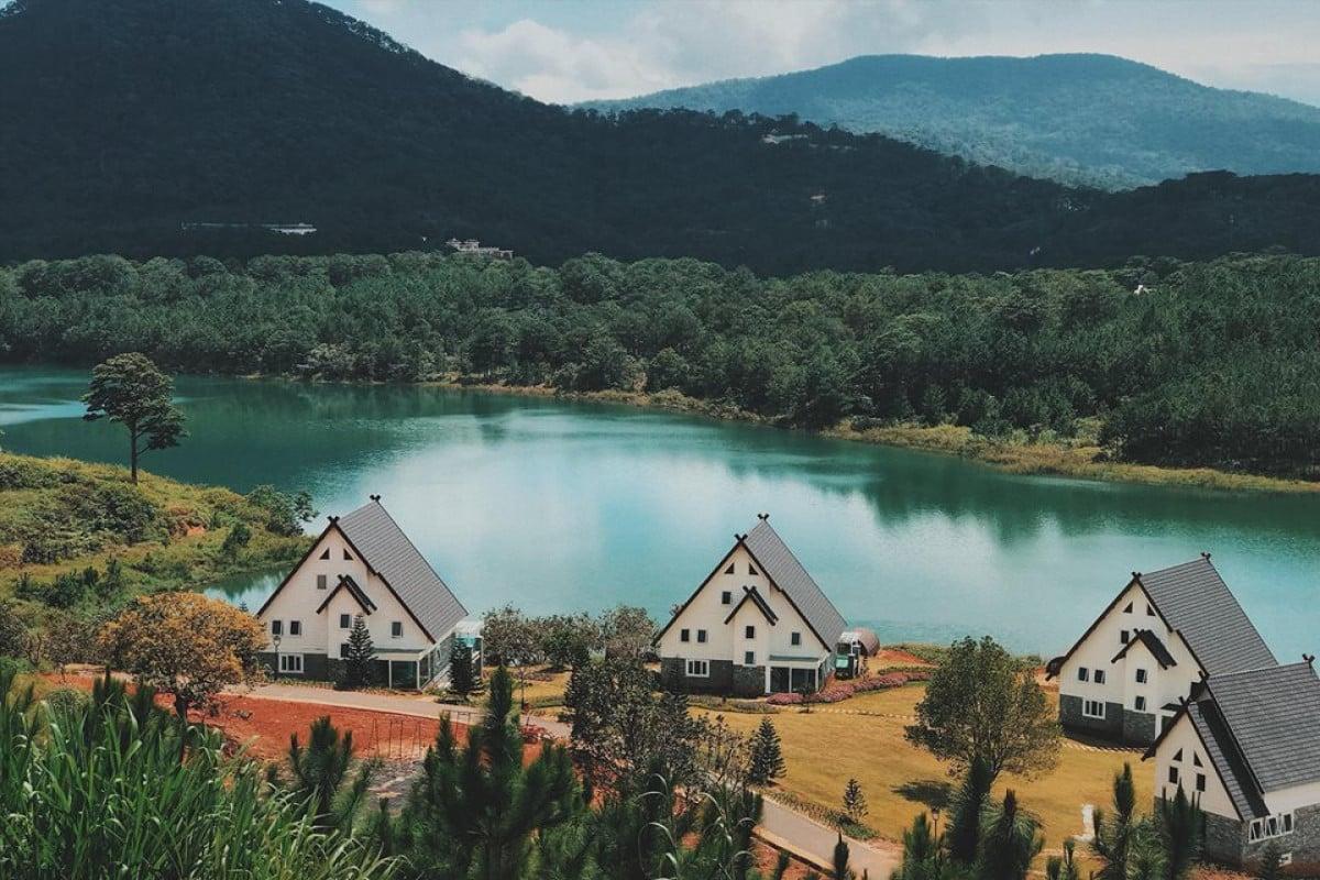 Một khu resort tuyệt đẹp ở Đà Lạt