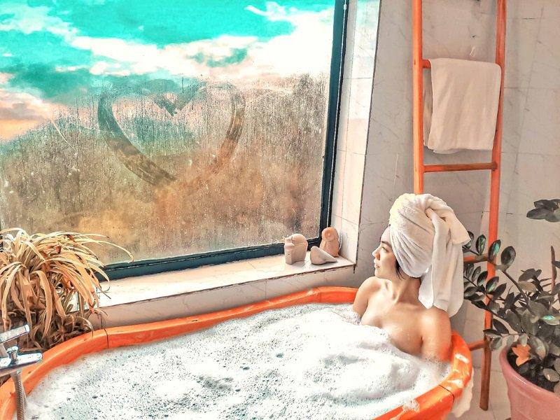 Kupid homestay Đà Lạt có bồn tắm chụp hình cực đẹp