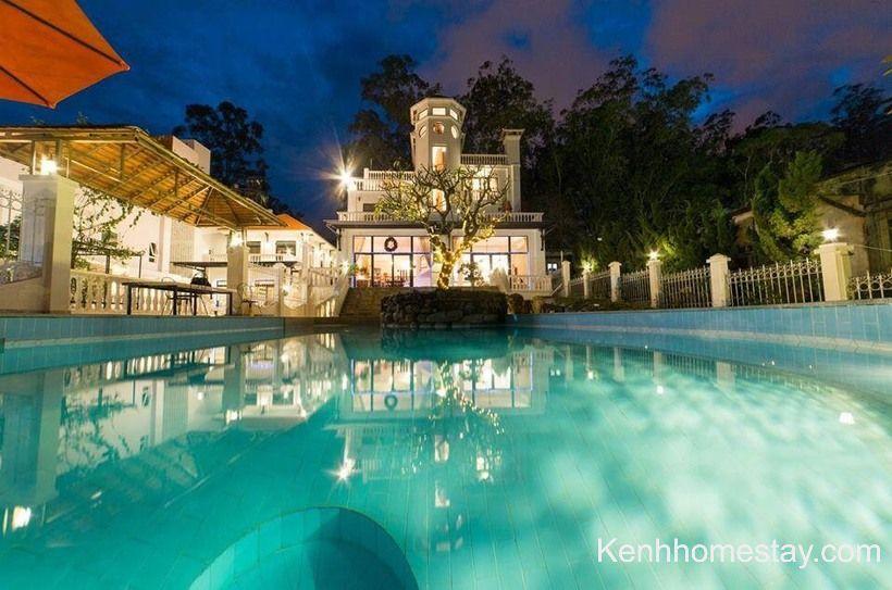 73 Biệt thự villa Đà Lạt giá rẻ view đẹp gần chợ trung tâm có hồ bơi