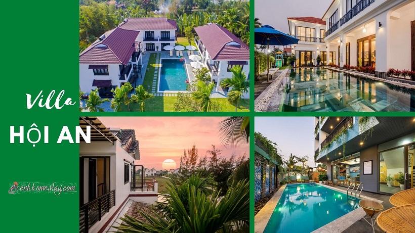 42 Biệt thự Villa Hội An giá rẻ đẹp cho thuê nguyên căn gần biển có hồ bơi